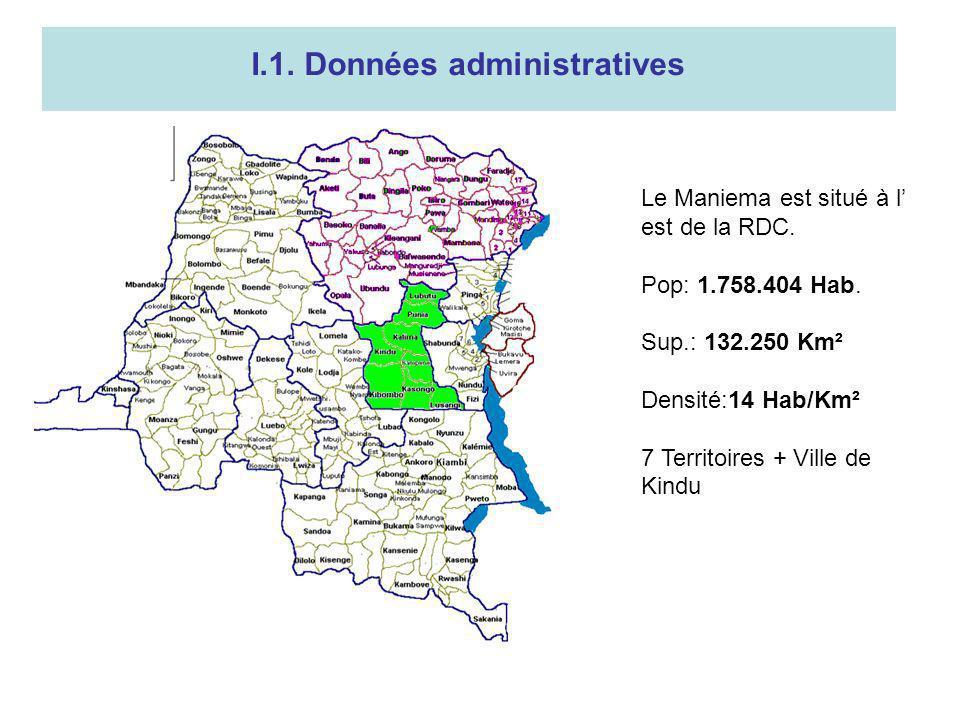 I.1. Données administratives