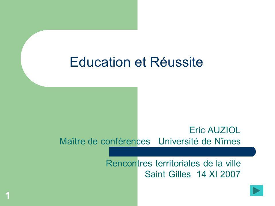 Education et Réussite Eric AUZIOL