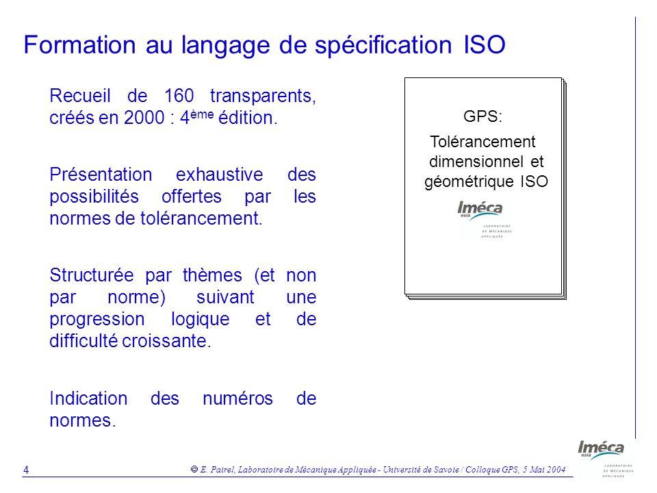 Formation au langage de spécification ISO