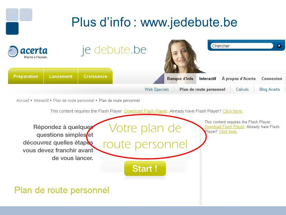 Plus d'info : www.jedebute.be