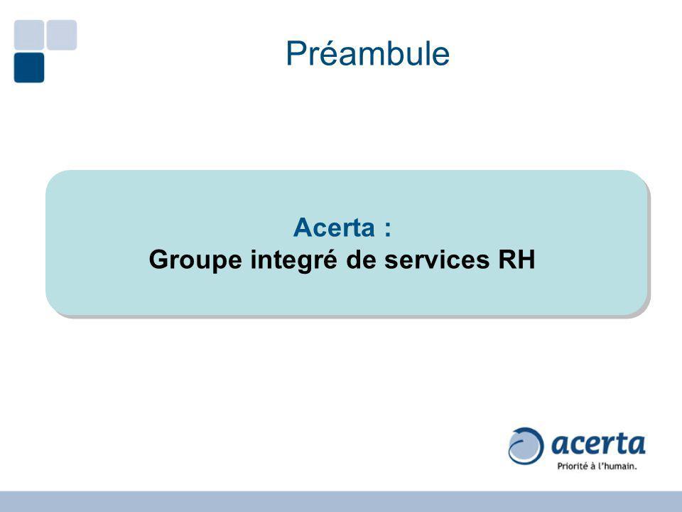 Groupe integré de services RH