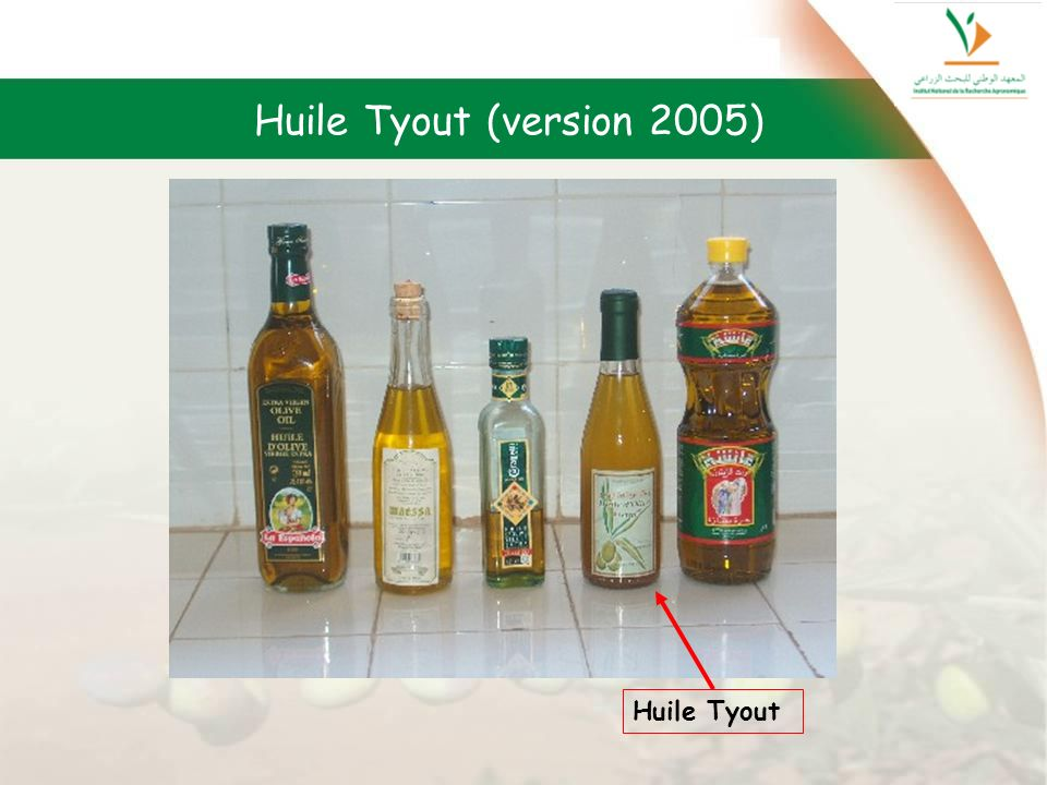 Huile Tyout (version 2005) Huile Tyout