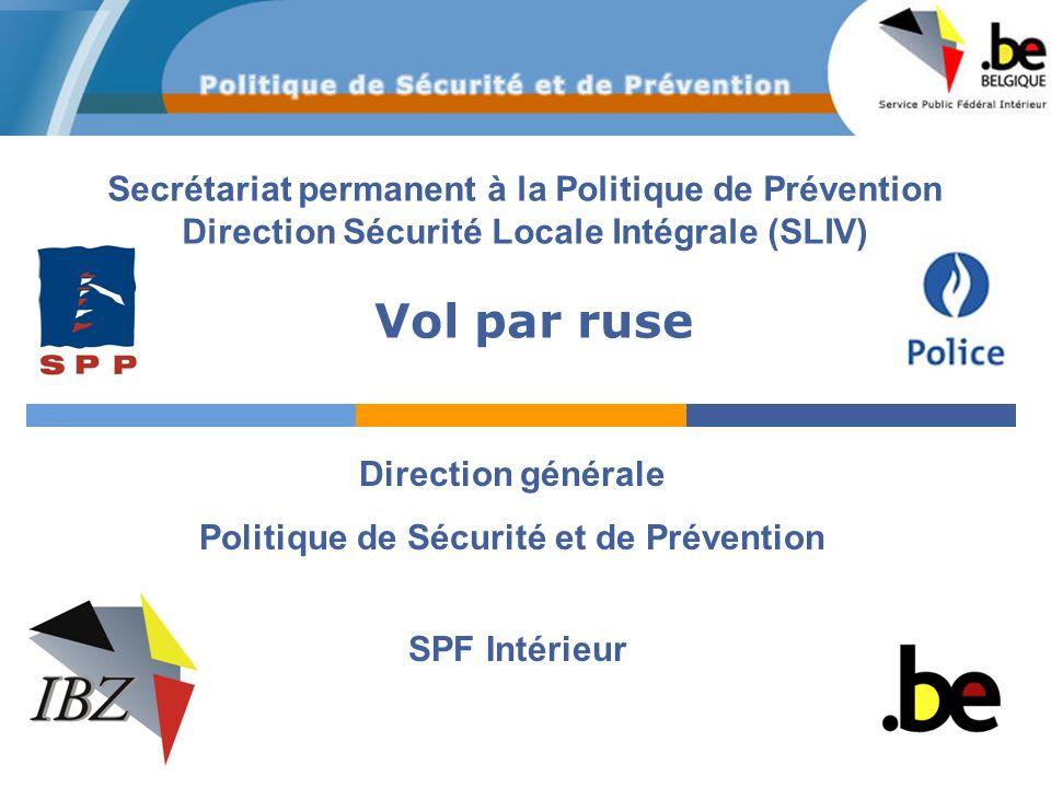 Politique de Sécurité et de Prévention