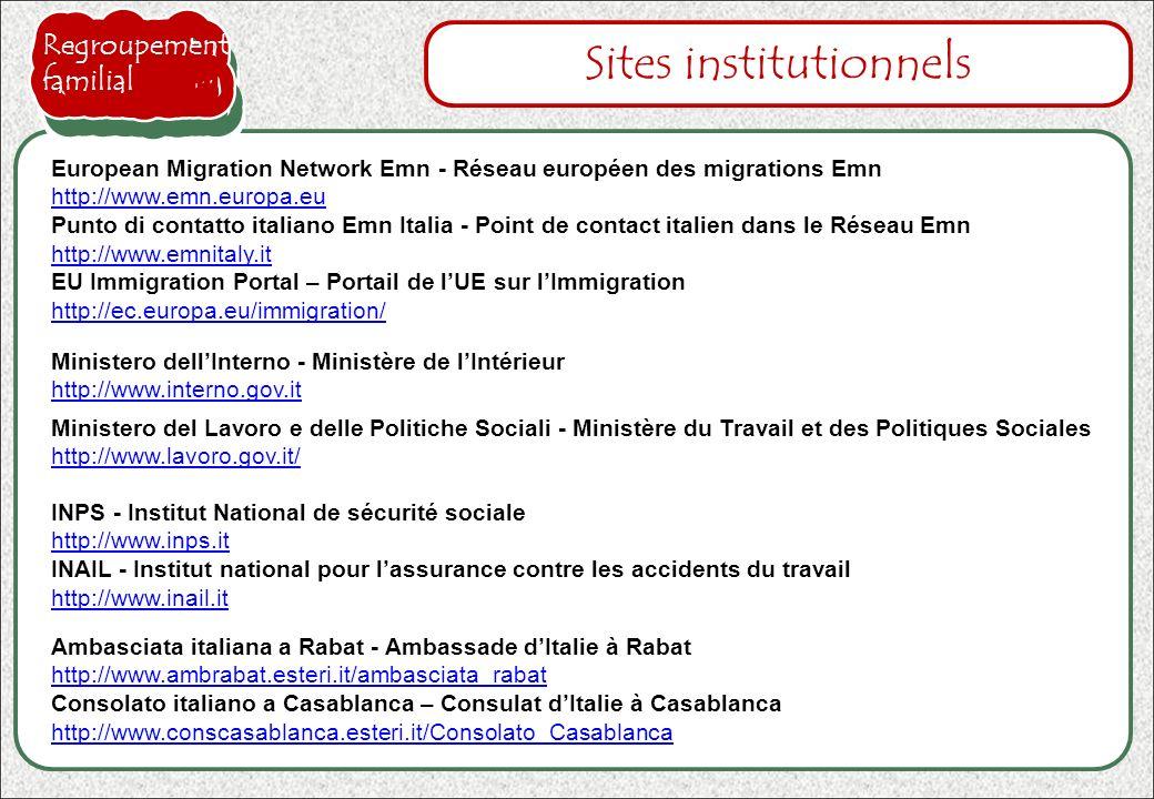 Sites institutionnels