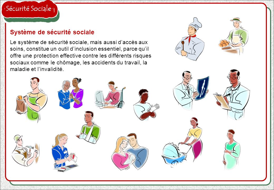 Sécurité Sociale Système de sécurité sociale