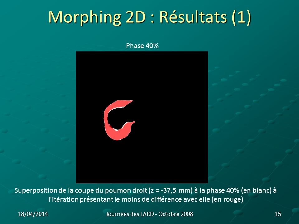 Morphing 2D : Résultats (1)