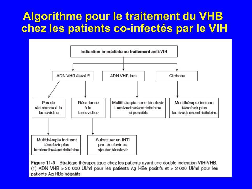 Algorithme pour le traitement du VHB