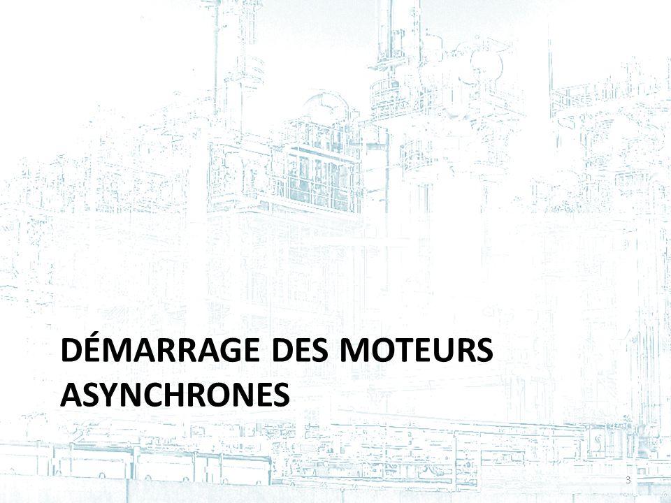 Démarrage des moteurs asynchrones