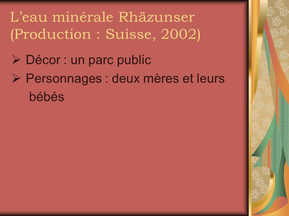 L'eau minérale Rhäzunser (Production : Suisse, 2002)