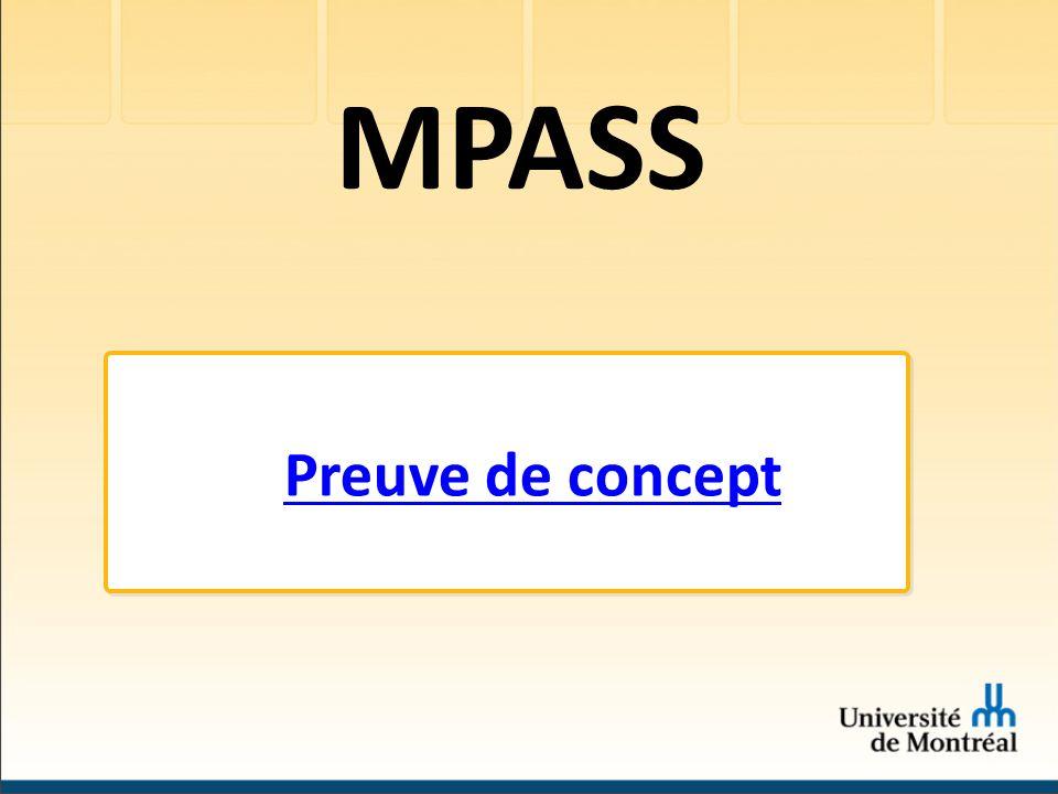MPASS Preuve de concept
