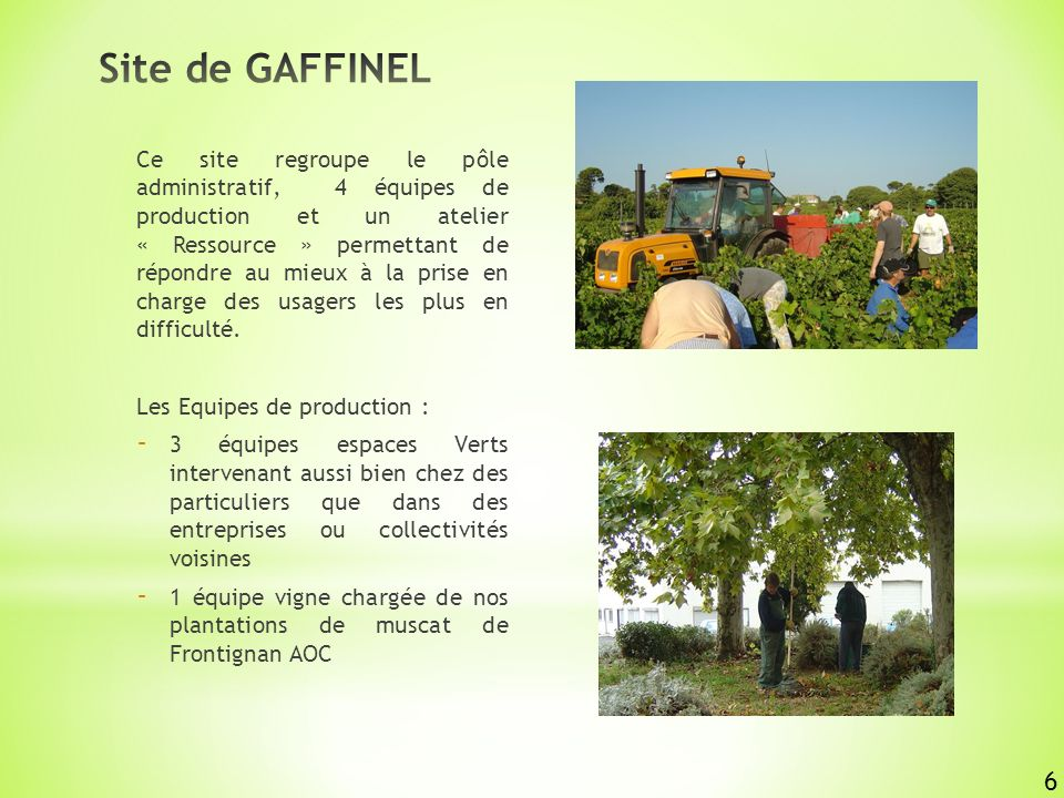 Site de GAFFINEL