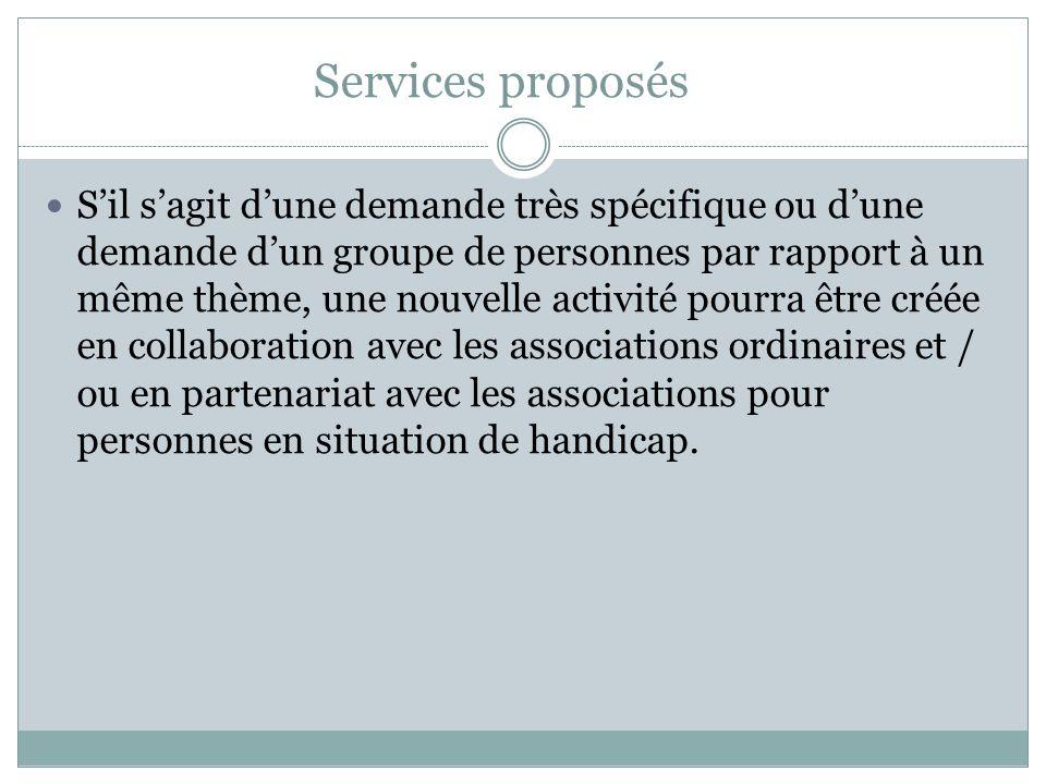 Services proposés