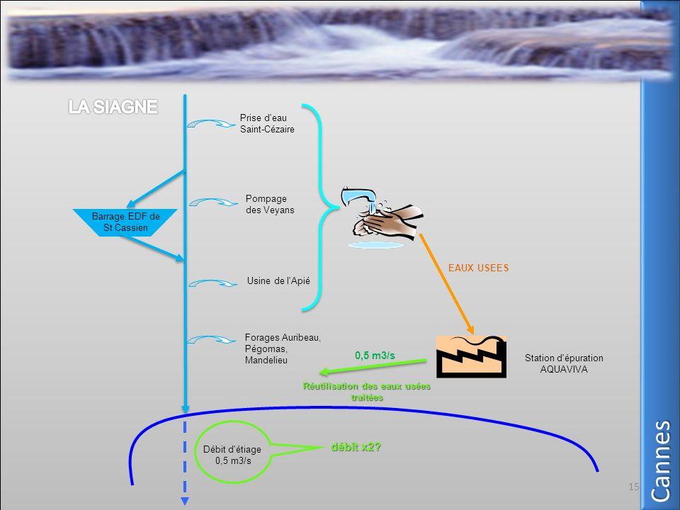 Réutilisation des eaux usées traitées
