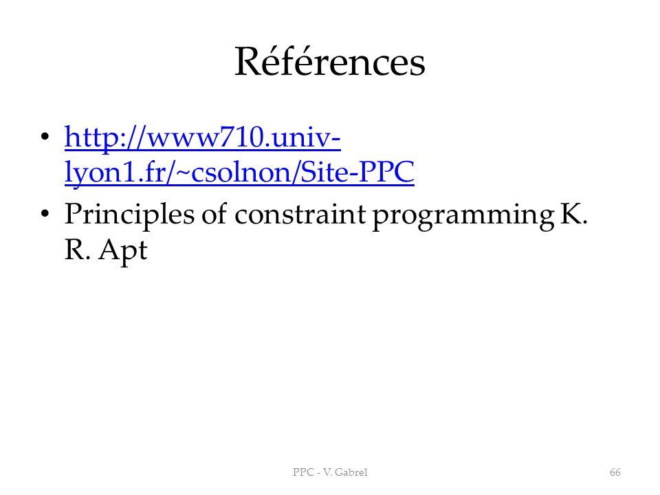 Références http://www710.univ-lyon1.fr/~csolnon/Site-PPC