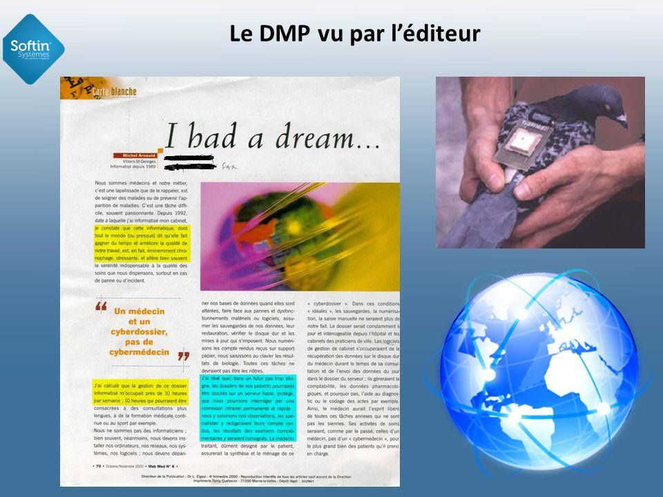 Le DMP vu par l'éditeur