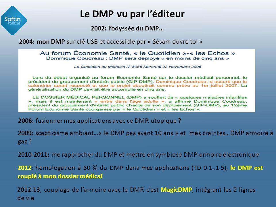 Le DMP vu par l'éditeur 2002: l'odyssée du DMP…