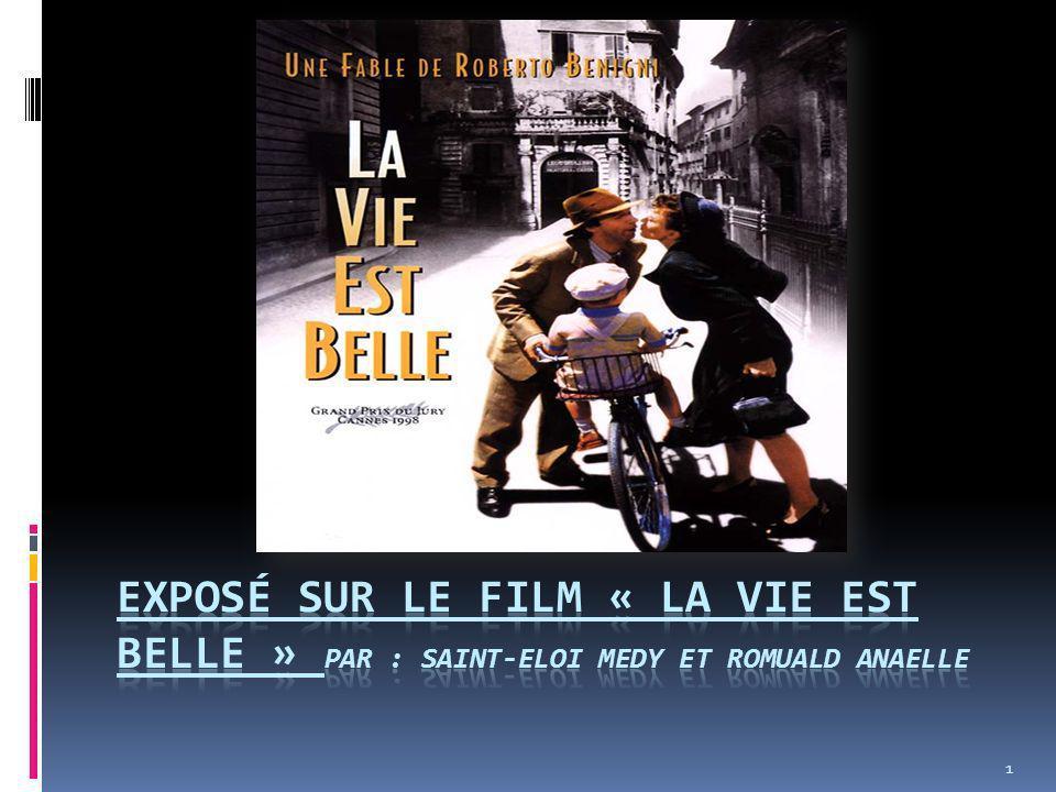 Exposé sur le film « la vie est belle » par : saint-eloi medy et Romuald Anaelle