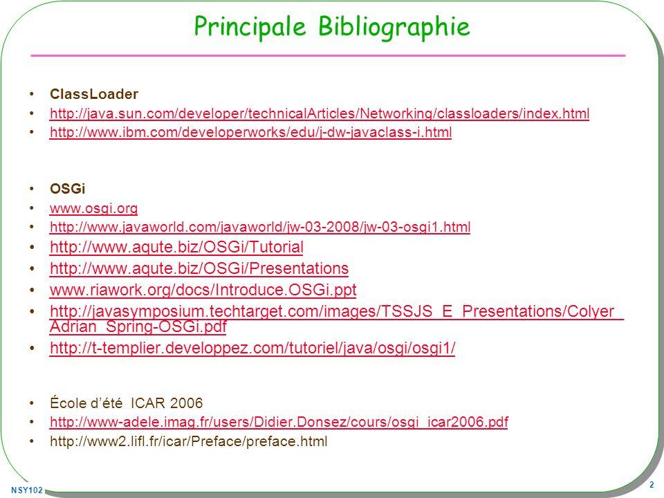Principale Bibliographie