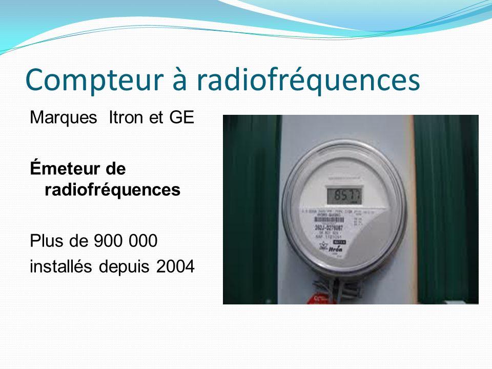 Compteur à radiofréquences