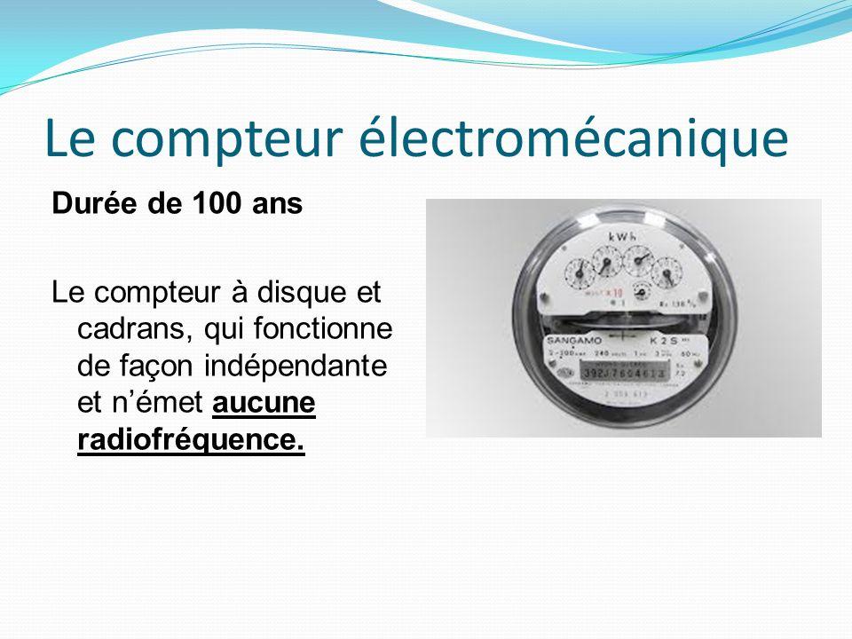 Le compteur électromécanique