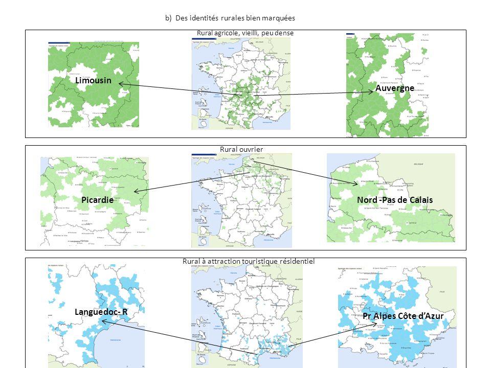 Limousin Auvergne Picardie Nord -Pas de Calais Languedoc- R