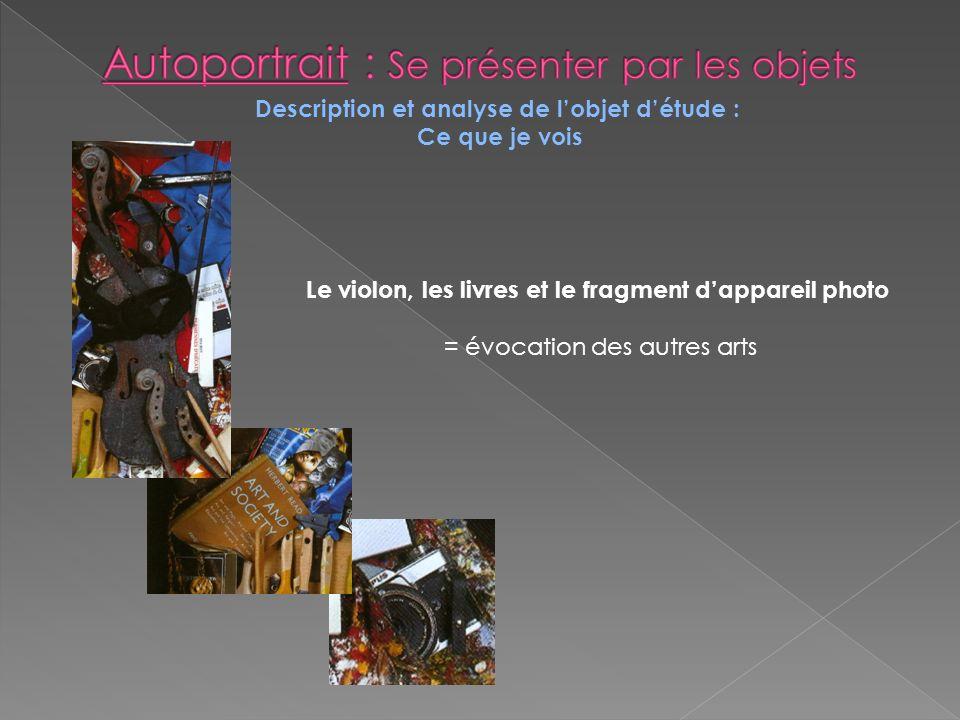 Autoportrait : Se présenter par les objets