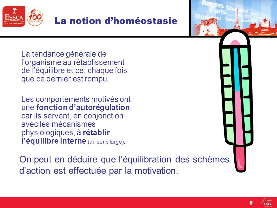La notion d'homéostasie