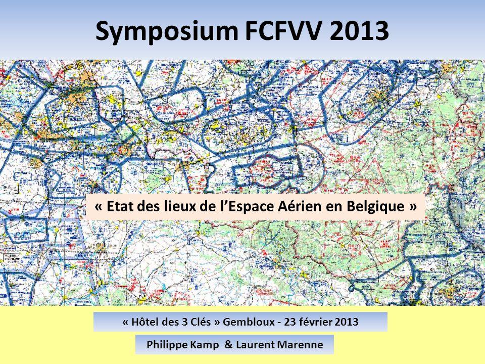 « Etat des lieux de l'Espace Aérien en Belgique »
