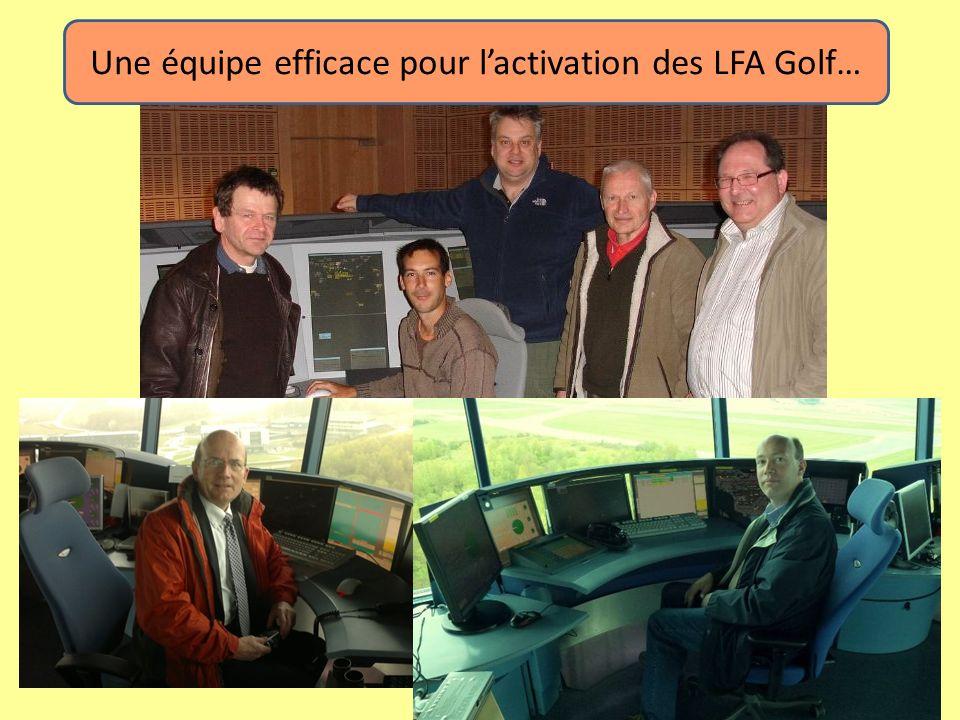 Une équipe efficace pour l'activation des LFA Golf…