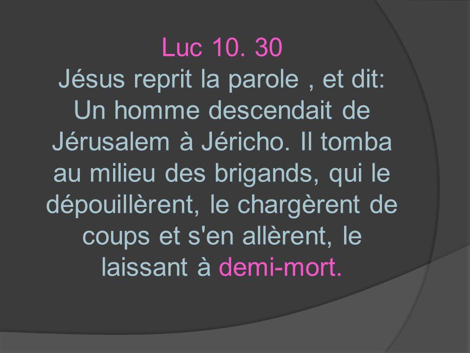 Luc 10. 30