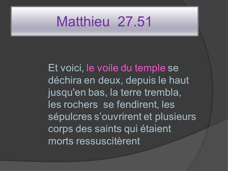 Matthieu 27.51