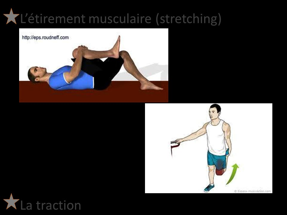 L'étirement musculaire (stretching)