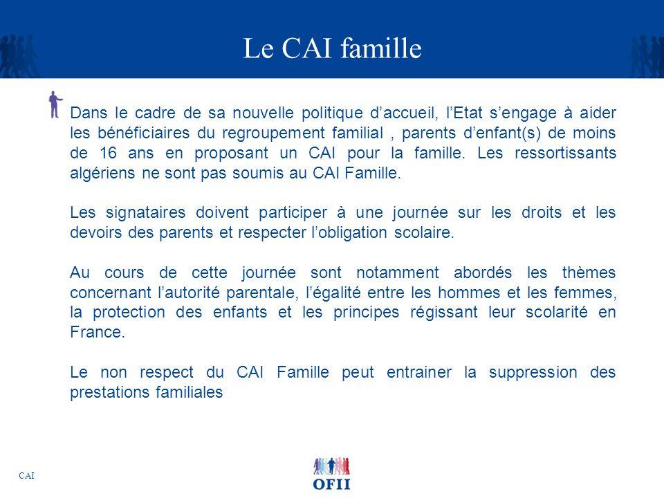 Le CAI famille