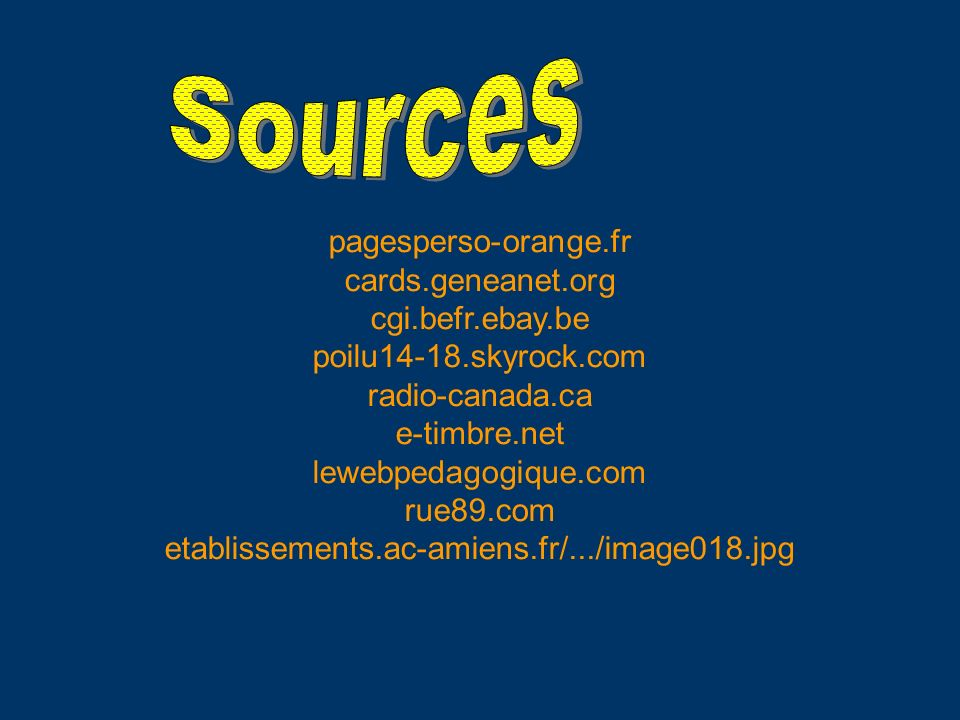 Sources pagesperso-orange.fr cards.geneanet.org cgi.befr.ebay.be