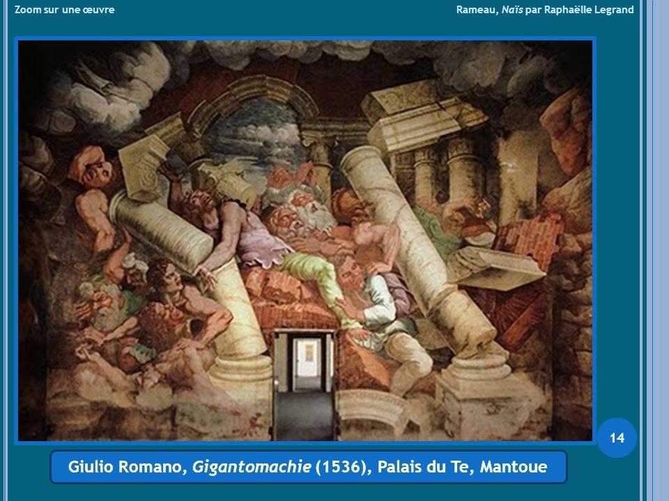 Giulio Romano, Gigantomachie (1536), Palais du Te, Mantoue