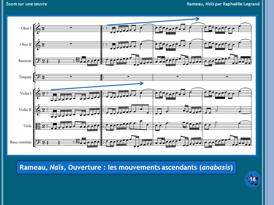 Rameau, Naïs, Ouverture : les mouvements ascendants (anabasis)