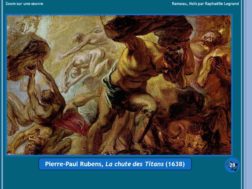 Pierre-Paul Rubens, La chute des Titans (1638)