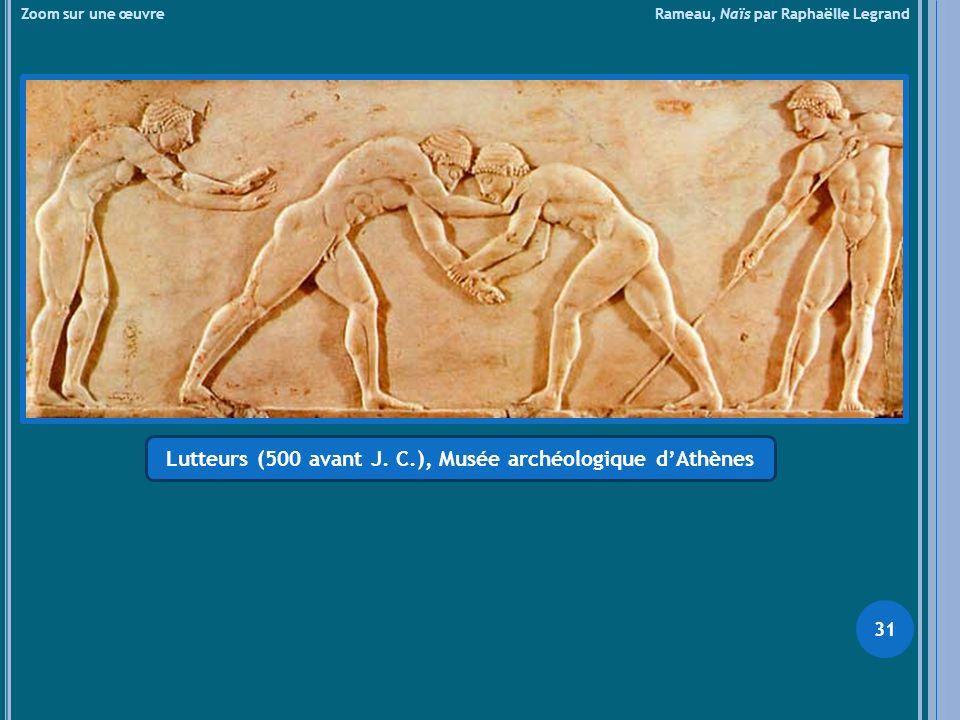 Lutteurs (500 avant J. C.), Musée archéologique d'Athènes