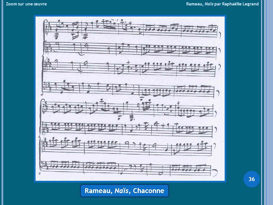 Zoom sur une œuvre Rameau, Naïs par Raphaëlle Legrand