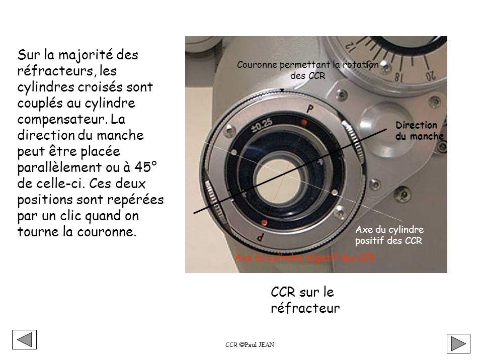 Couronne permettant la rotation des CCR