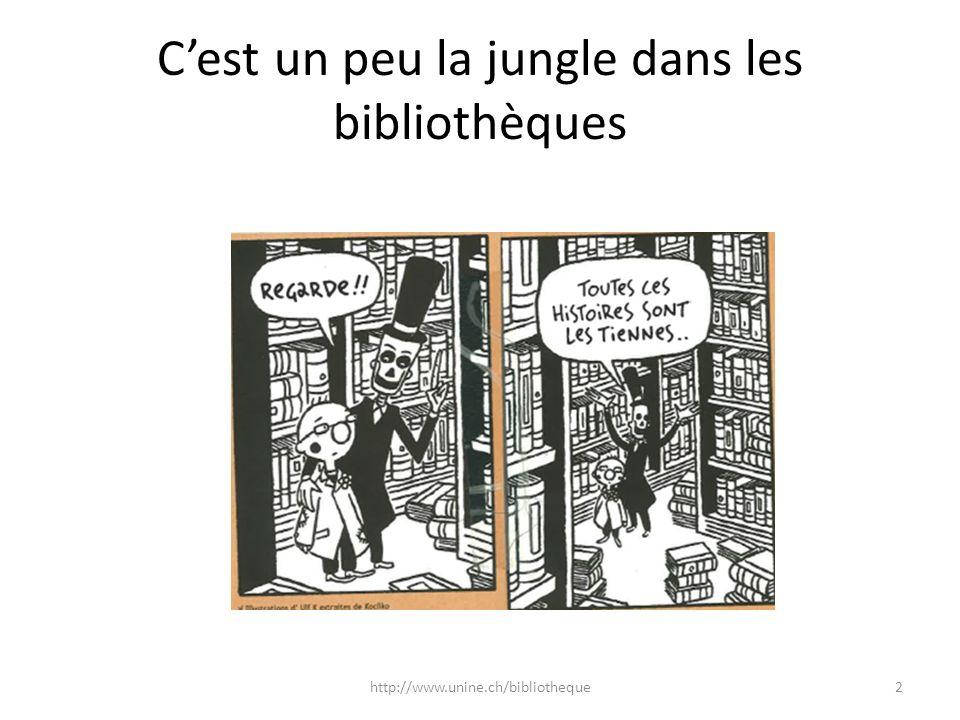 C'est un peu la jungle dans les bibliothèques