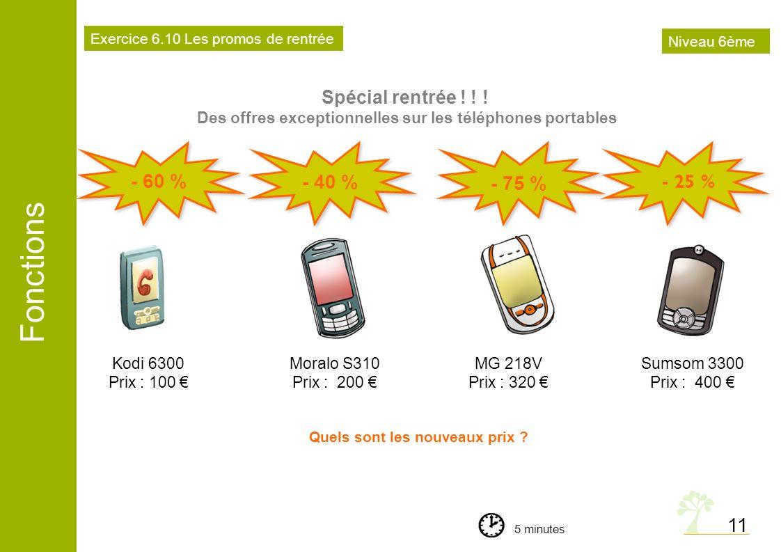 Des offres exceptionnelles sur les téléphones portables