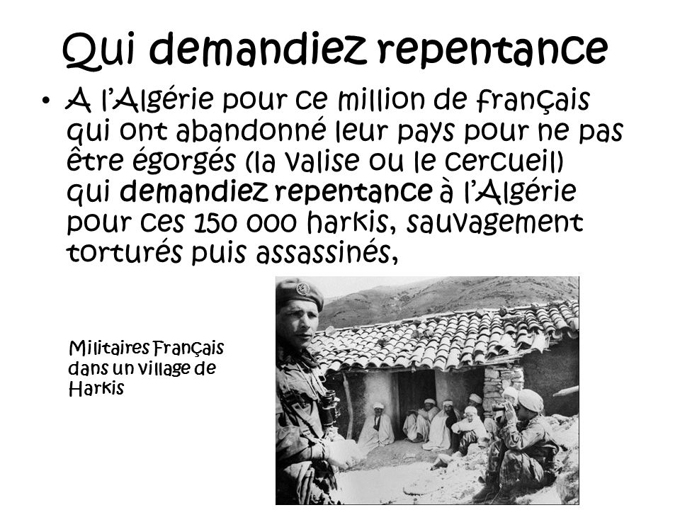 Qui demandiez repentance