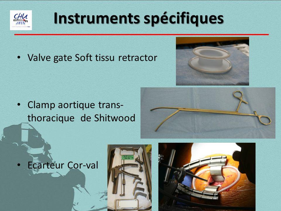 Instruments spécifiques