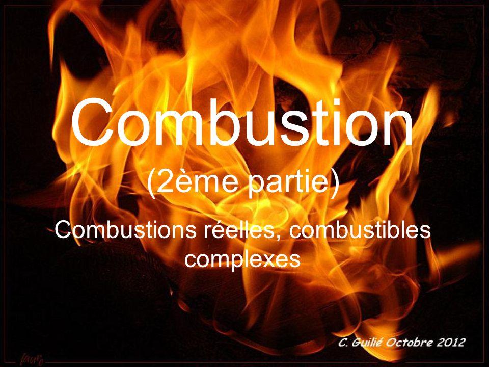 Combustion (2ème partie)