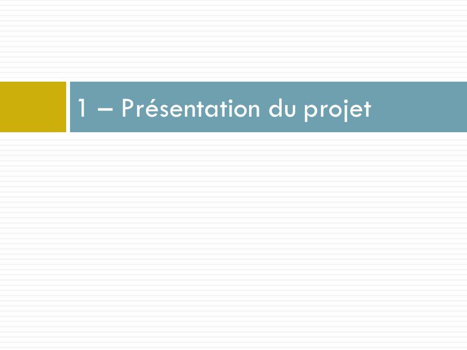 1 – Présentation du projet