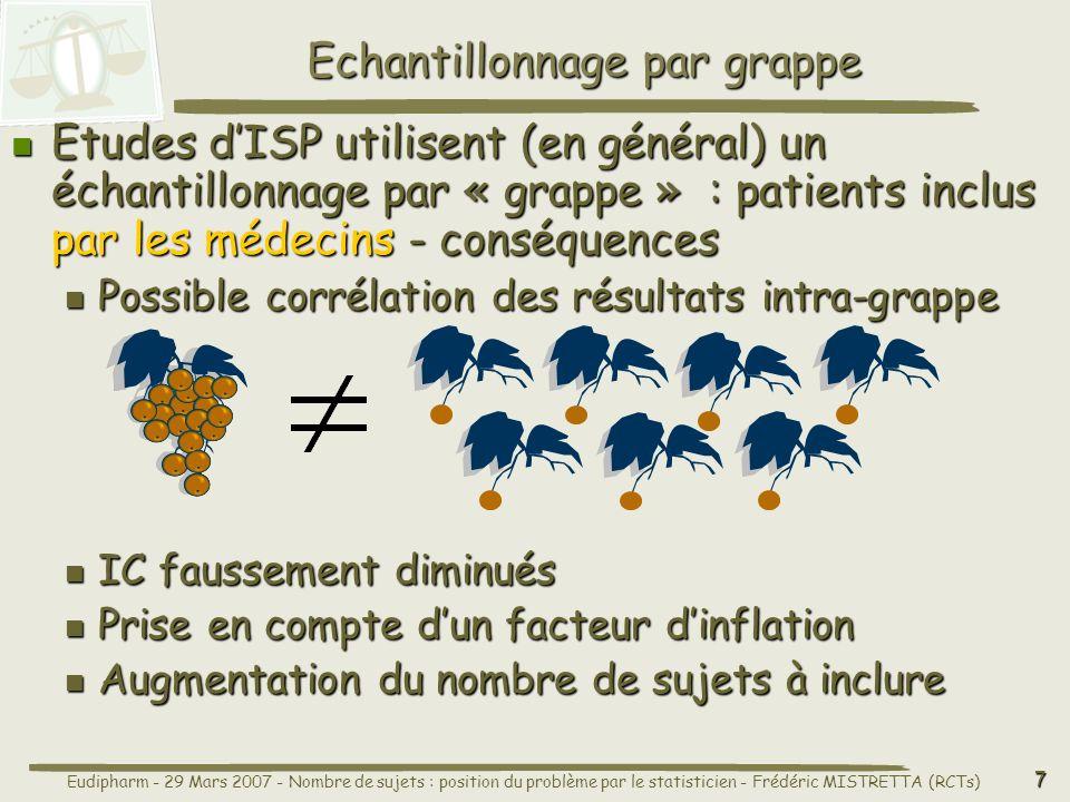 Echantillonnage par grappe