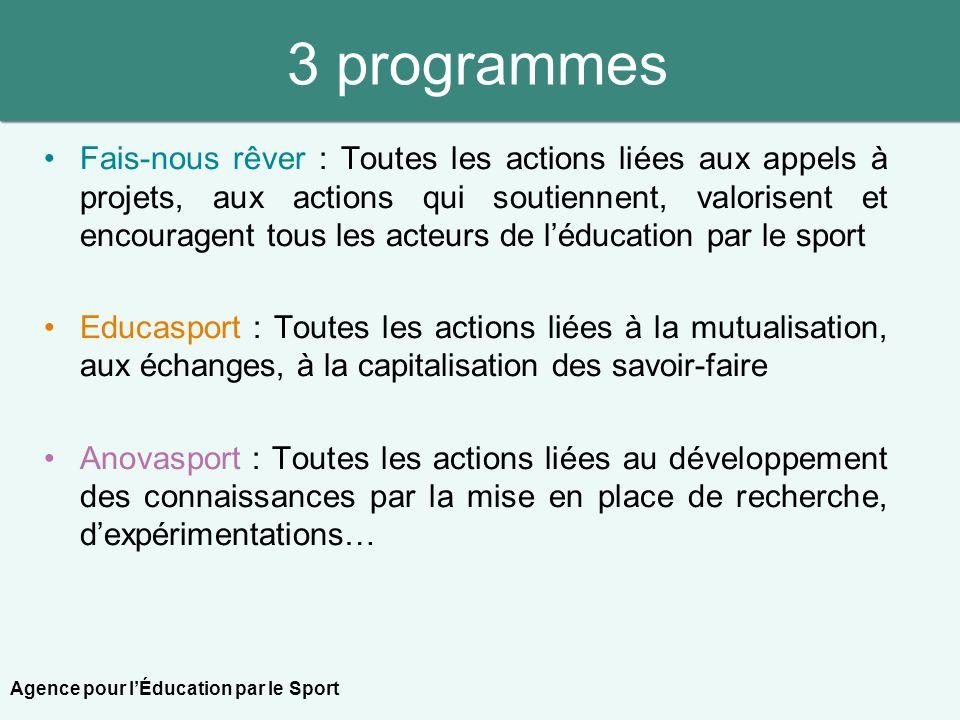 3 programmes