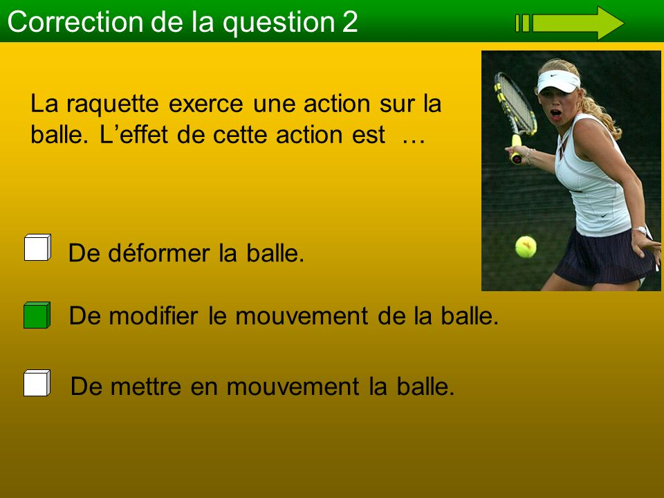 Correction de la question 2