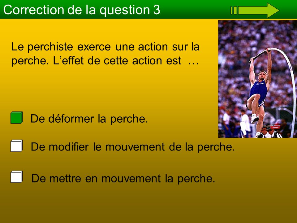 Correction de la question 3